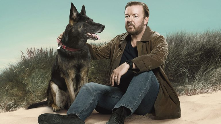 After Life recenzia: Ricky Gervais hľadá novú nádej bez milovanej ženy.