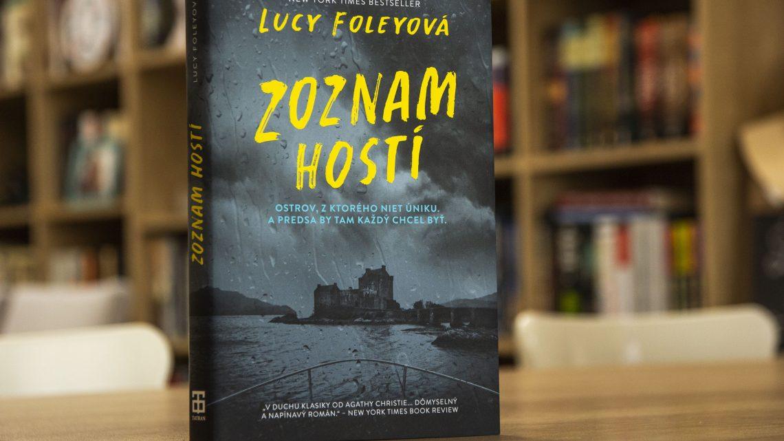 Zoznam hostí recenzia: Výborný román o stratených démonoch