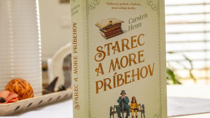 Starec a more príbehov recenzia: Pôvabný príbeh o literatúre